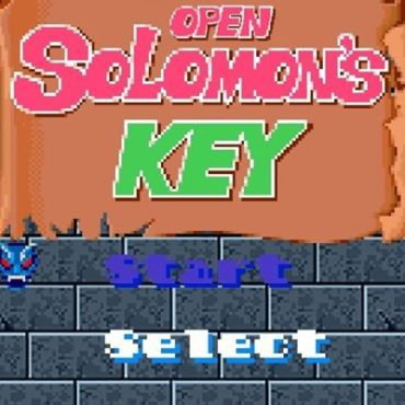 Open Solomon's Key - Open-source remake of the 1986 Arcade classic for Windows