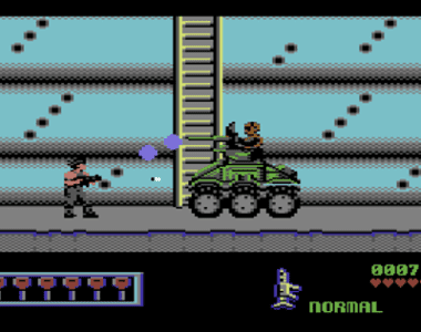 Midnight Resistance for the Commodore 64 is absolutely incredible
